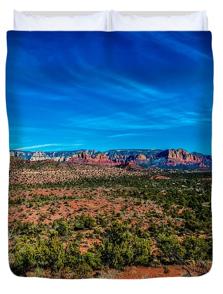 Far View Duvet Cover by Jon Burch Photography