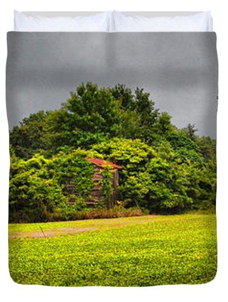 Farm Journal - Hidden History Duvet Cover by Paulette B Wright
