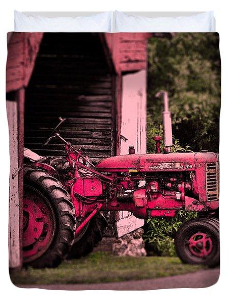 Farmall 200 Duvet Cover by Robert Geary