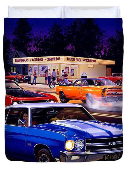 Fast Freds Duvet Cover by Bruce Kaiser