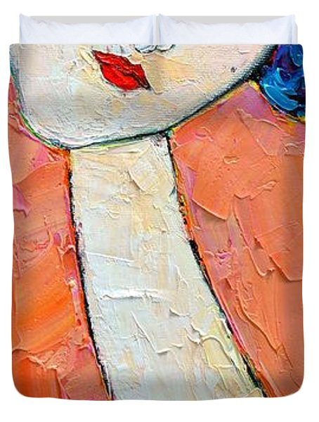 Femininity Duvet Cover by Ana Maria Edulescu
