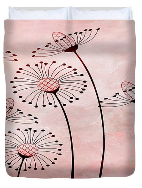 Field Of Flowers Within 3 Duvet Cover by Angelina Vick