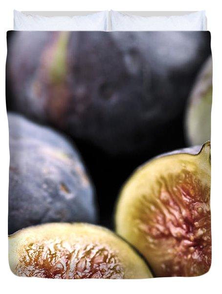 Figs Duvet Cover by Elena Elisseeva