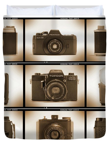 Film Camera Proofs 3 Duvet Cover by Mike McGlothlen
