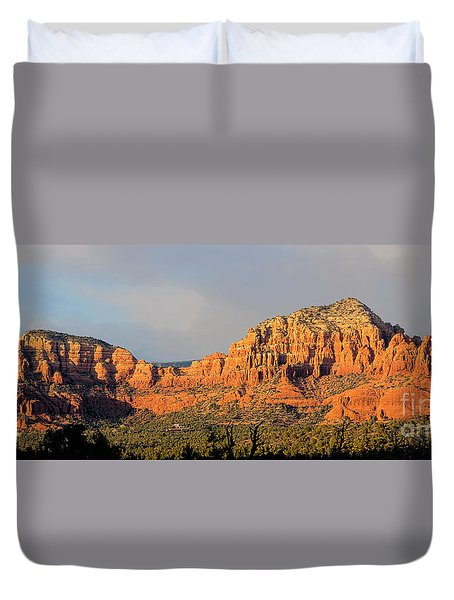Find The Church Duvet Cover by Jon Burch Photography