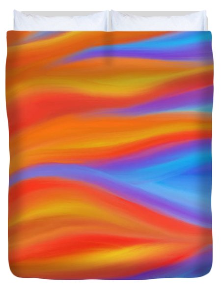 Firelight Duvet Cover by Daina White