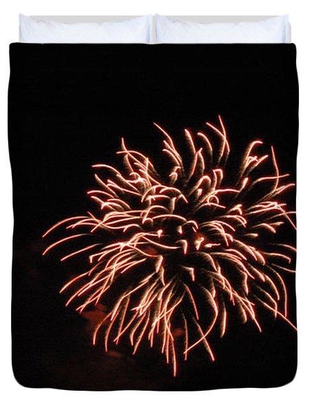 Fireworks 2 Duvet Cover by Scott Angus