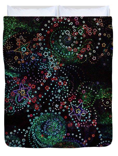 Fireworks Celebration By Jrr Duvet Cover by First Star Art