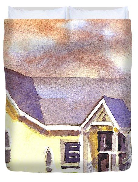 First Presbyterian Church Ironton Missouri Duvet Cover by Kip DeVore