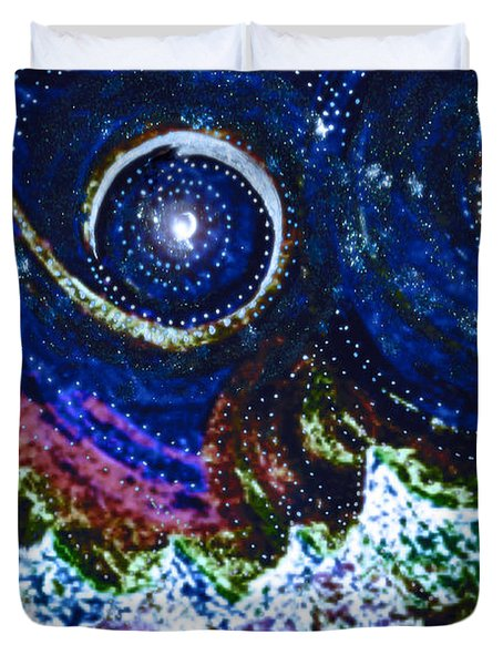 First Star Magic Sky By Jrr Duvet Cover by First Star Art