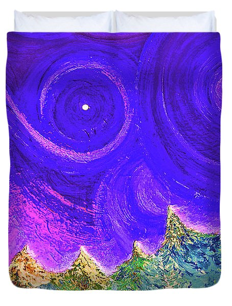First Star Sunrise Duvet Cover by First Star Art