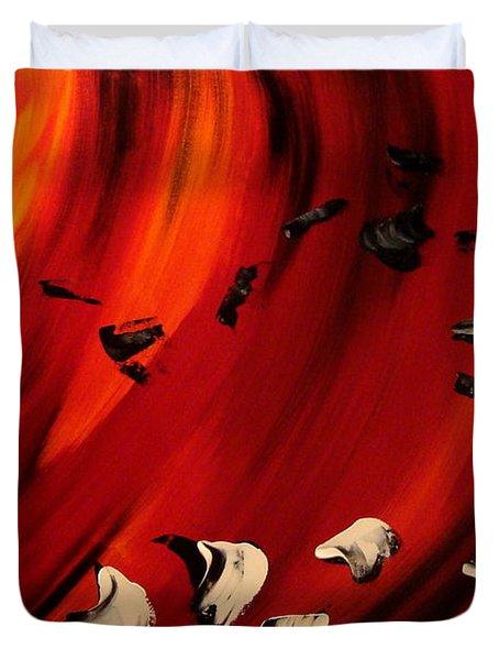Flamboyant Duvet Cover by Isabelle Vobmann