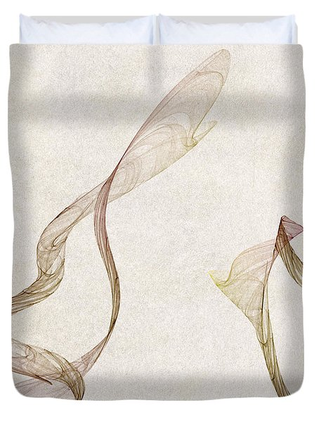 Flames Duvet Cover by David Ridley