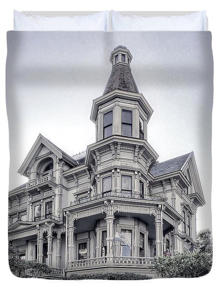 FLAVEL VICTORIAN HOME Duvet Cover by Daniel Hagerman