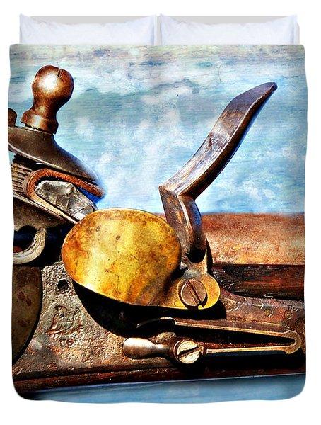 Flintlock Duvet Cover by Marty Koch