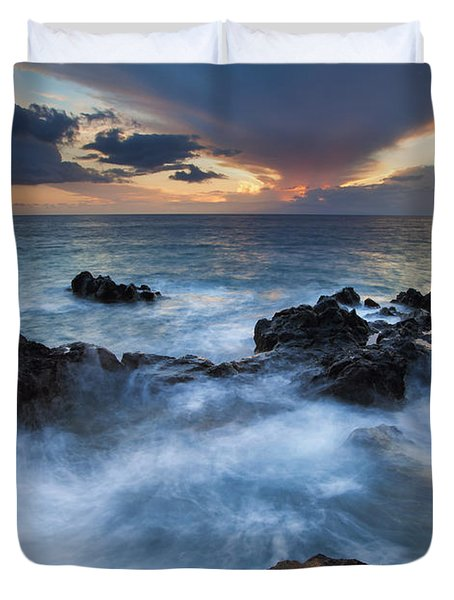 Flooded Duvet Cover by Mike  Dawson