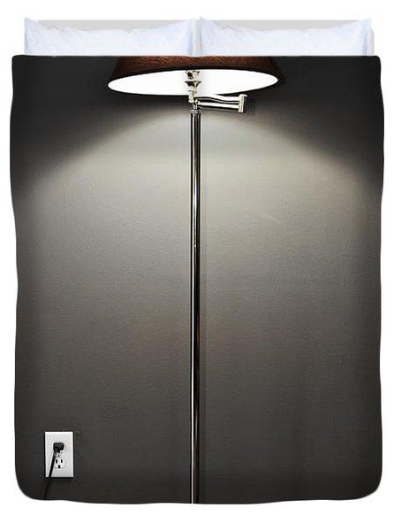 Floor lamp Duvet Cover by Elena Elisseeva