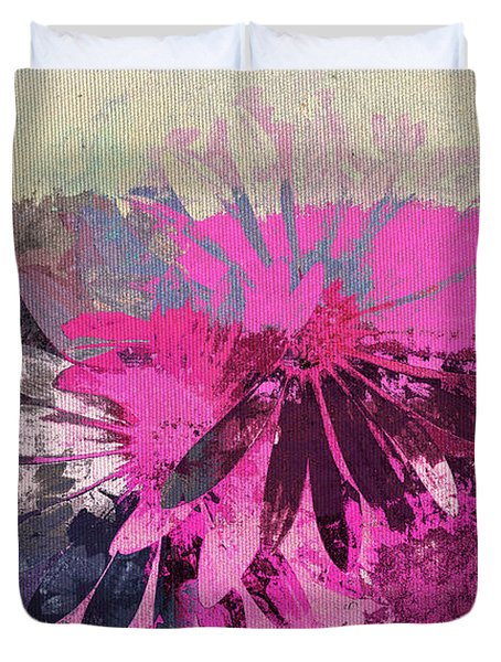 Floral Fiesta - s31at01b Duvet Cover by Variance Collections