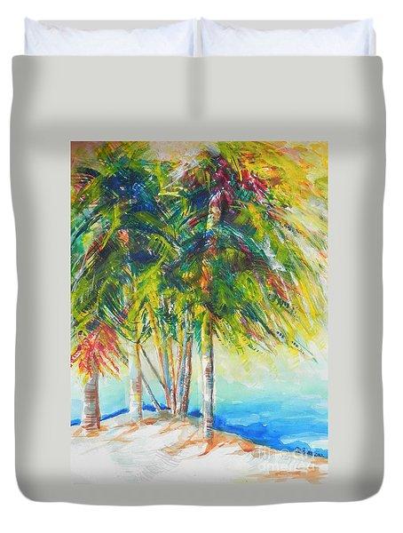 Florida Inspiration  Duvet Cover by Chrisann Ellis