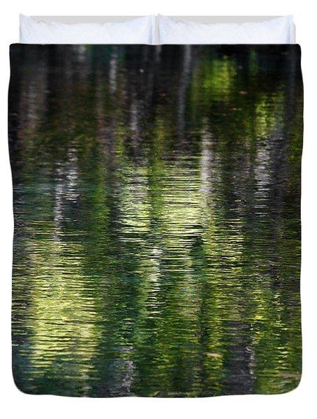 Florida Silver Springs River Duvet Cover by Christine Till