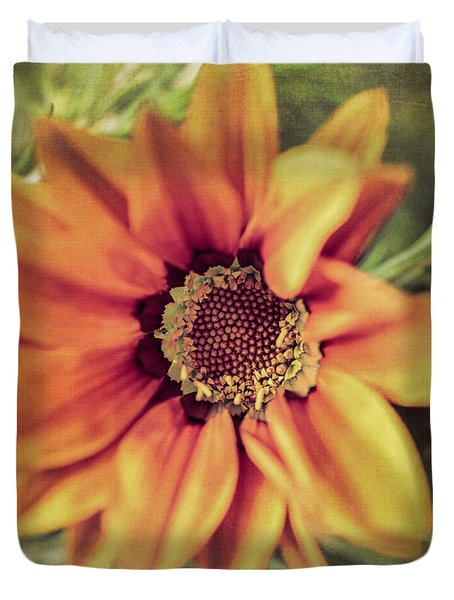 Flower Beauty I Duvet Cover by Marco Oliveira
