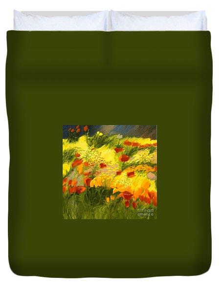 Flower Fantasy Duvet Cover by Madeleine Holzberg