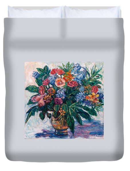 Flower Life Duvet Cover by Kendall Kessler