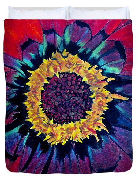 Flowerburst Duvet Cover by Rory Sagner