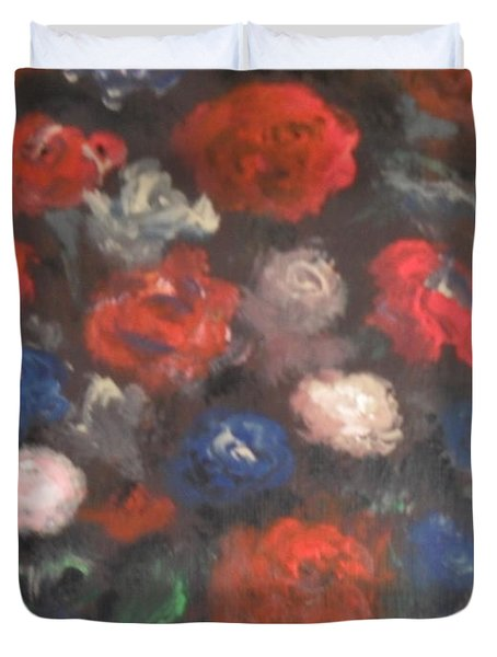 Flowers Duvet Cover by Laurie D Lundquist