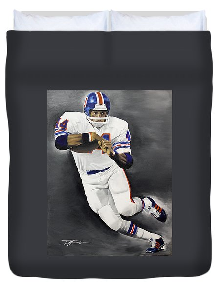 Floyd Little Duvet Cover by Don Medina