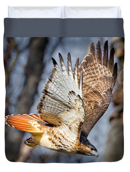 Fly Away Duvet Cover by Bill Wakeley