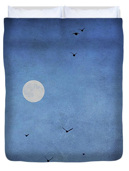 Fly Away Duvet Cover by Darren Fisher