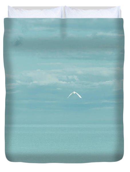 Fly Away Duvet Cover by Kim Hojnacki