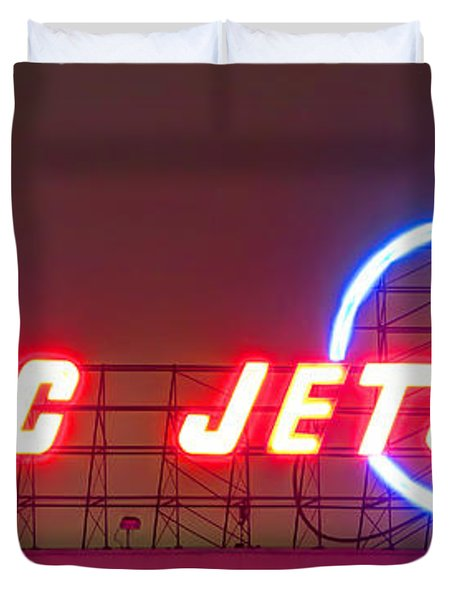 Fly Dc Jets Duvet Cover by Heidi Smith