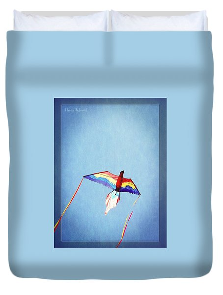 Fly Free Duvet Cover by Jamie Johnson