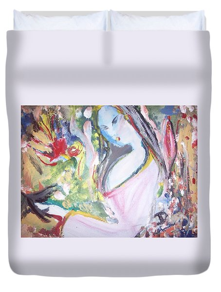 Fly Free Duvet Cover by Judith Desrosiers