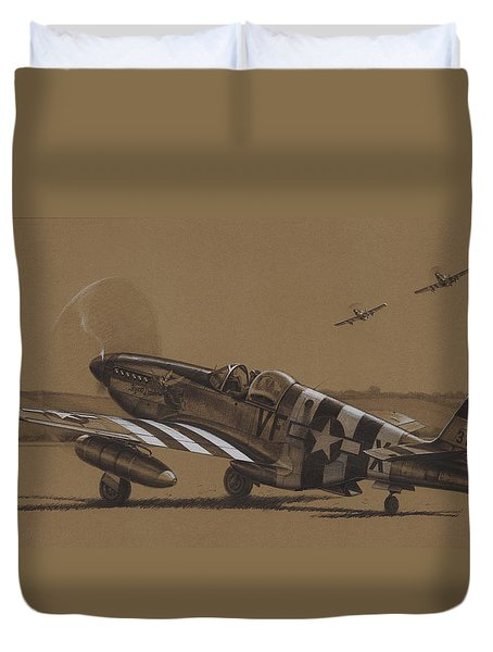 Flying Dutchman Duvet Cover by Wade Meyers