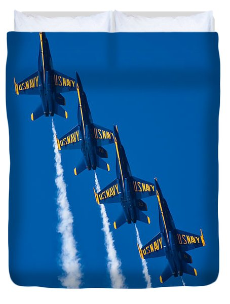 Flying High Duvet Cover by Adam Romanowicz
