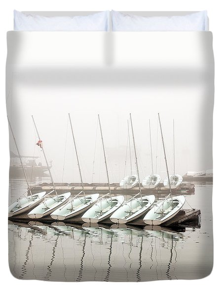 Fogged In Duvet Cover by Bob Orsillo