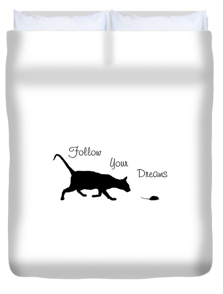 Follow Your Dreams Duvet Cover by Bamalam  Photography