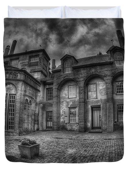 Fonthill Castle  Duvet Cover by Susan Candelario