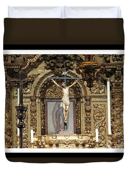 For Our Sins Duvet Cover by Shoal Hollingsworth