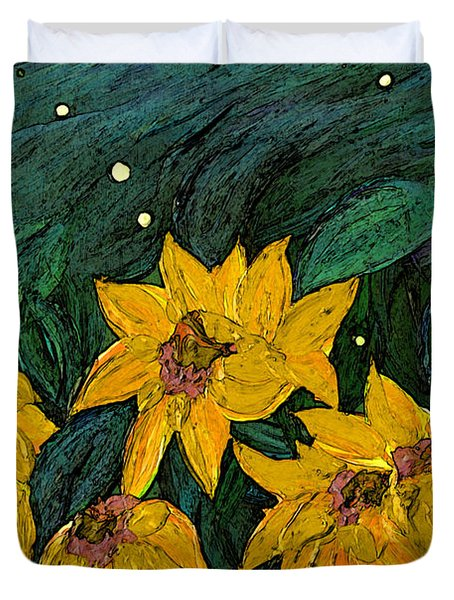 For Vincent By Jrr Duvet Cover by First Star Art