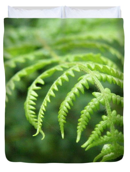 Forest Fern Duvet Cover by Lainie Wrightson