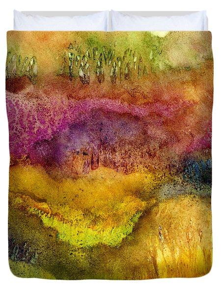 Forest Duvet Cover by Hailey E Herrera
