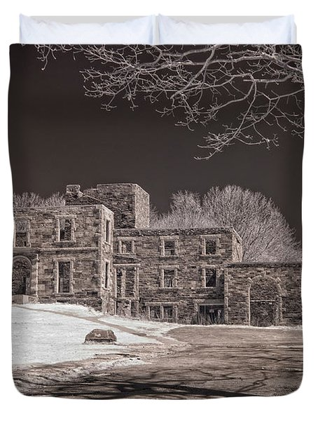 Forgotten Fort Williams Duvet Cover by Joann Vitali