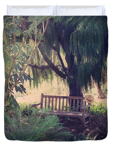 Forgotten.... Duvet Cover by Laurie Search