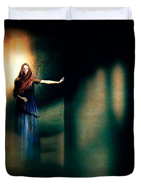 Fortune Teller Duvet Cover by Bob Orsillo