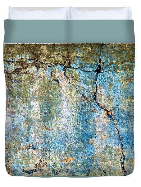 Foundation Four Duvet Cover by Bob Orsillo