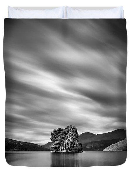Four Rocks Duvet Cover by Dave Bowman